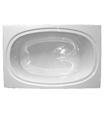 "American Acrylic BR-61A 42""x60"" Oval Bathtub With Jet Mode: Air (16 jets)"
