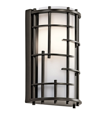 Kichler 45469OZ Tremba Collection Wall Sconce 1 Light Halogen in Olde Bronze