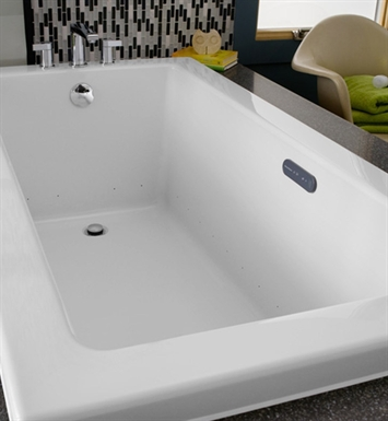"American Standard 2933.168C Studio 5' X 32"" EverClean Air Bathtub"