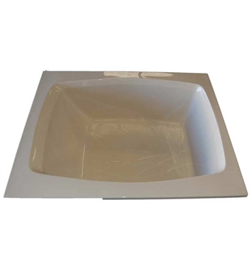 "American Acrylic BR-35W 48""x60"" Rectangular Bathtub With Jet Mode: Whirlpool (8 jets)"