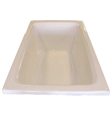 "American Acrylic BR-37A 42""x60"" Rectangular Bathtub With Jet Mode: Air (16 jets)"