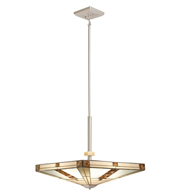 Kichler 65363 Bryce Collection Semi-Flush / Inv Pendant 4 Light