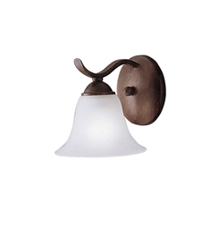 Kichler Dover Collection Wall Sconce 1 Light in Tannery Bronze