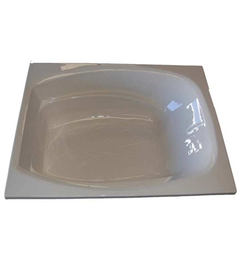 "American Acrylic BR-36C 48""x72"" Bathtub with Armrest With Jet Mode: Combo (Whirlpool & Air Jets)"