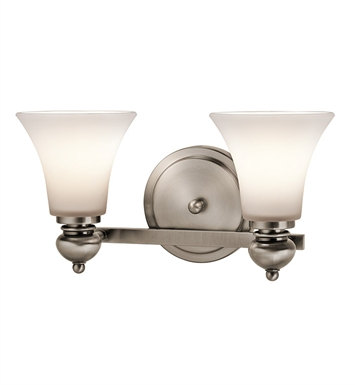 Kichler 45047CLP Bath 2 Light in Classic Pewter