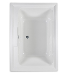 "American Standard Town Square 5' X 42"" EcoSilent Combo Massage System Bathtub"