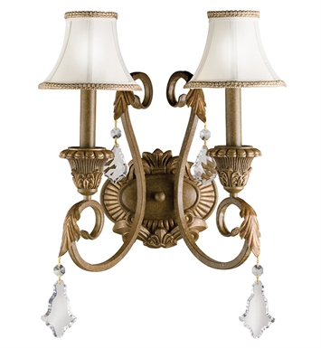 Kichler 6504RVN Ravenna Collection Wall Sconce 2 Light