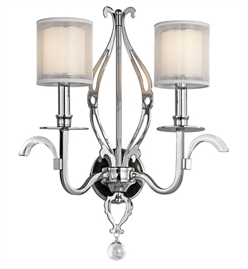 Kichler 42307CH Wall Sconce 2 Light in Chrome