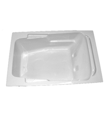 "American Acrylic BRA-51C 41""x72"" Bathtub with Armrest With Jet Mode: Combo (Whirlpool & Air Jets)"