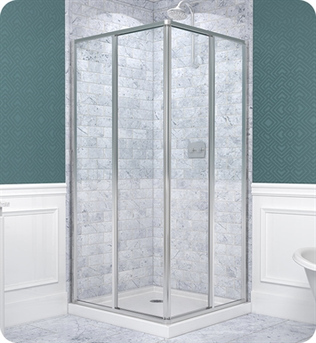 DreamLine SHEN-8134340-01 CornerView Shower Enclosure