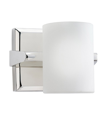 Kichler 5965PN Tubes Collection Wall Sconce 1 Light Halogen in Polished Nickel