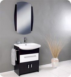Fresca Distinto Modern Bathroom Vanity with Wenge Wood Finish