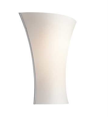 Kichler 10695CH Wall Sconce 1 Light Fluorescent in Chrome