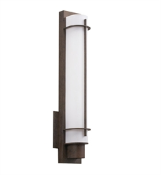 Kichler Visalia Collection Wall Sconce 1 Light Fluorescent in Olde Bronze