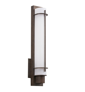 Kichler 10448OZ Visalia Collection Wall Sconce 1 Light Fluorescent in Olde Bronze