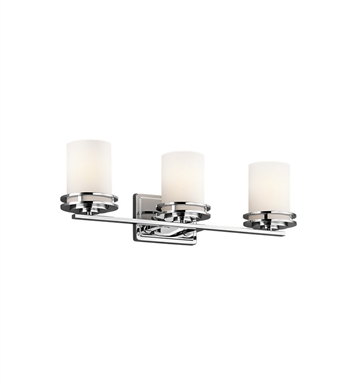 Kichler 5078CH Hendrik Collection Bath 3 Light in Chrome