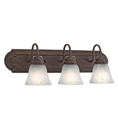 Kichler 5337TZ Bath 3 Light in Tannery Bronze
