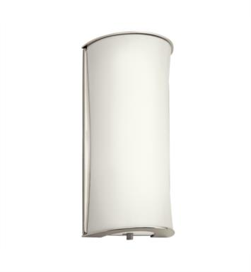 Kichler 10693PN 1 Light Compact Fluorescent Wall Sconce in Polished Nickel