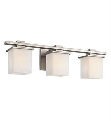 Kichler 45151AP Tully Collection Bath 3 Light in Antique Pewter