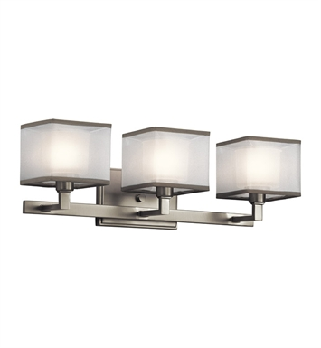 Kichler 45439NI Kailey Collection Bath 3 Light in Brushed Nickel