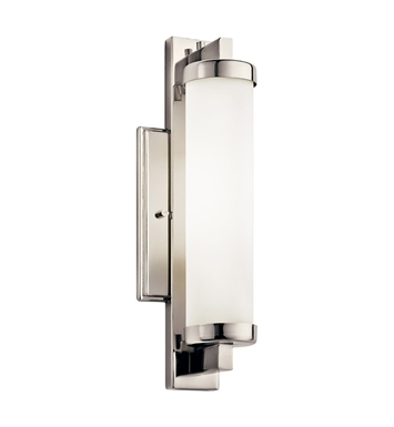 Kichler 10481PC Wall Sconce 1 Light Fluorescent in Polished Chrome