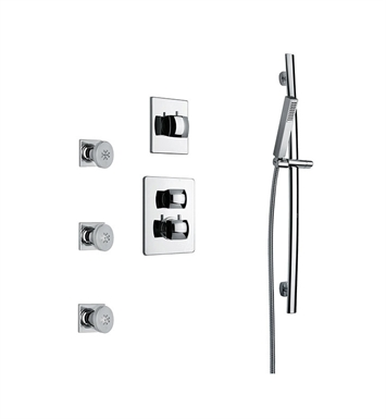 LaToscana LA-OPTION5CR Lady Shower System 5 With Finish: Chrome