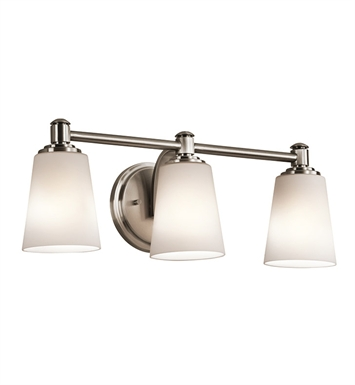 Kichler 45455CLP Bath 3 Light in Classic Pewter