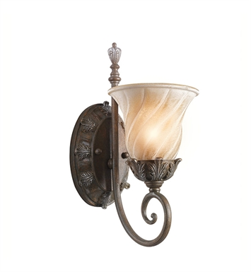 Kichler 42516LZ Sarabella Collection Wall Sconce 1 Light in Legacy Bronze