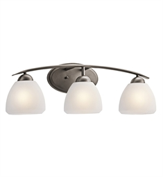 Kichler Calleigh Collection Bath 3 Light in Olde Bronze