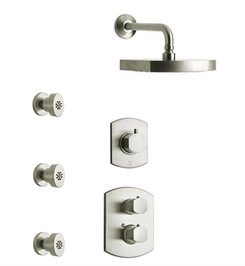 LaToscana NO-OPTION4 Novello Shower System 4