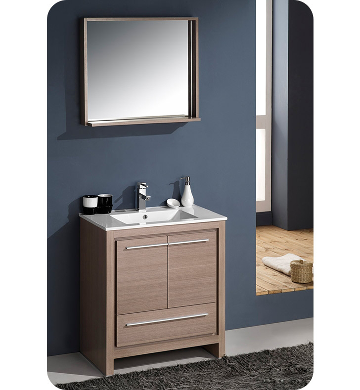 fresca fvn8130go allier 30 modern bathroom vanity with