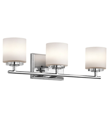 Kichler 45502CH OHara Collection Bath 3 Light in Chrome