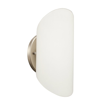 Kichler 10669NI Wall Sconce 1 Light Fluorescent in Brushed Nickel