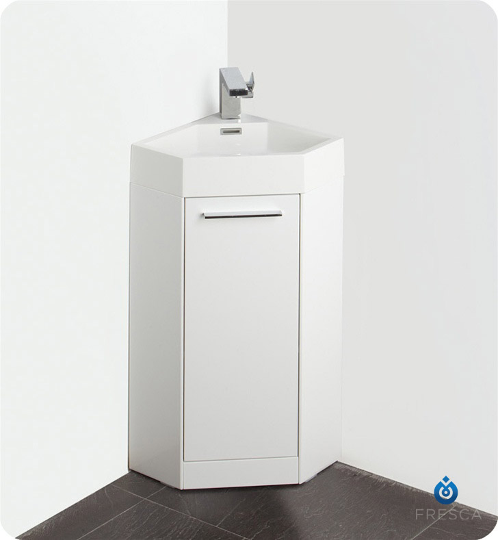 about fresca fvn5082wh coda 14 modern corner bathroom vanity in white