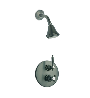 LaToscana OR-OPTION2PW Ornellaia Shower System 2 With Finish: Brushed Nickel
