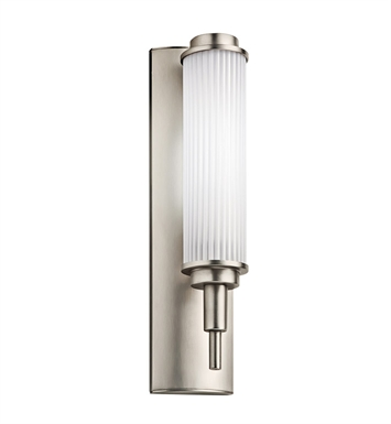 Kichler 11108SN Allegre Collection Wall Sconce 1 Light Fluorescent in Satin Nickel