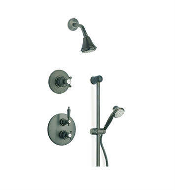 LaToscana OR-OPTION3TU Ornellaia Shower System 3 With Finish: Tuscan Bronze