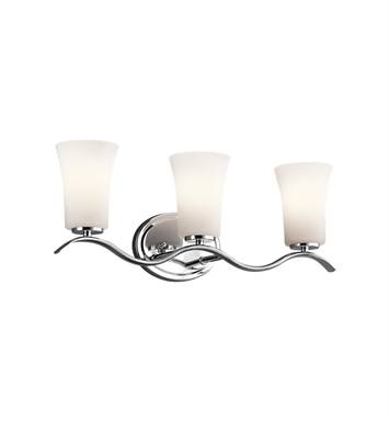 Kichler 45376CH Armida Collection Bath 3 Light in Chrome