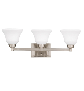 Kichler 5390NI Bath 3 Light in Brushed Nickel