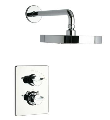 LaToscana 73CR690 Morgana Thermostatic Shower Set in Chrome
