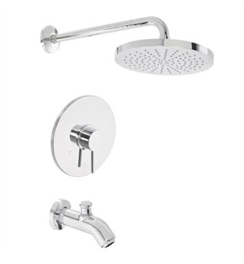 LaToscana 78697 Elba Pressure Balance Valve Tub and Shower Faucet Set