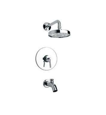 LaToscana 81PW697 Morellino Pressure Balance Tub and Shower Set in Nickel