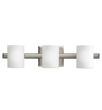 Kichler 5967NI Tubes Collection Bath 3 Light Halogen in Brushed Nickel