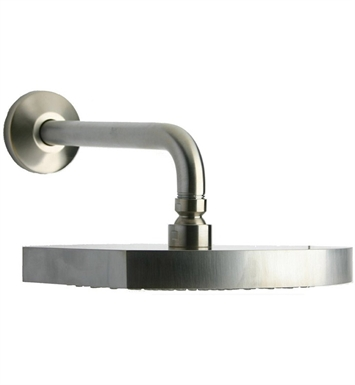 LaToscana 86PW750 Novello Showerhead with Arm in Nickel