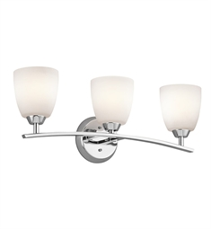 Kichler Granby Collection Bath 3 Light in Chrome