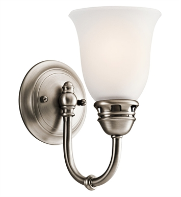 Kichler 45064AP Durham Collection Wall Sconce 1 Light in Antique Pewter