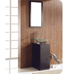 Fresca FVN6117ES Brilliante Modern Bathroom Vanity Set with Mirror in Espresso