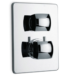 LaToscana Lady Thermostatic Shower Valve with Volume Control in Chrome