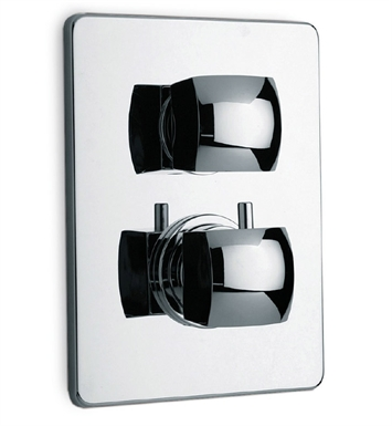 LaToscana 89CR690 Lady Thermostatic Shower Valve with Volume Control in Chrome
