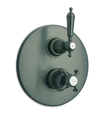 LaToscana 87TU690 Ornellaia Thermostatic Shower Valve with Volume Control in Bronze
